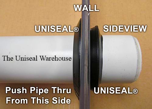2 Uniseal Tank To Pipe Adapter The Uniseal Warehouse